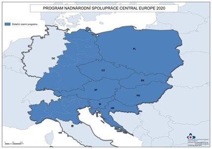 PROGRAM NADNÁRODNÍ SPOLUPRÁCE INTERREG CENTRAL EUROPE